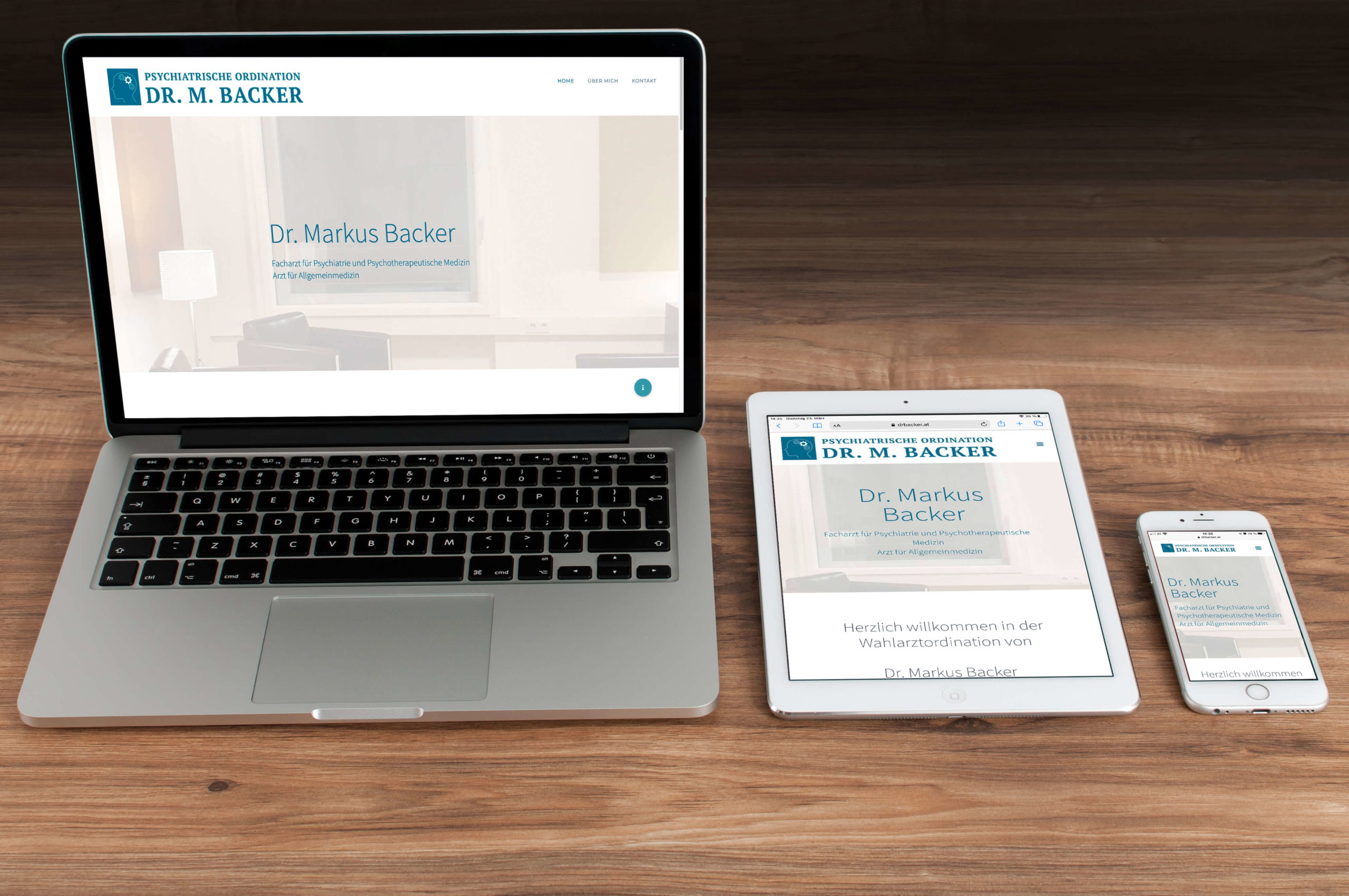 Website Dr. Backer Creative Content Dornbirn - Maßgeschneiderte Projekte